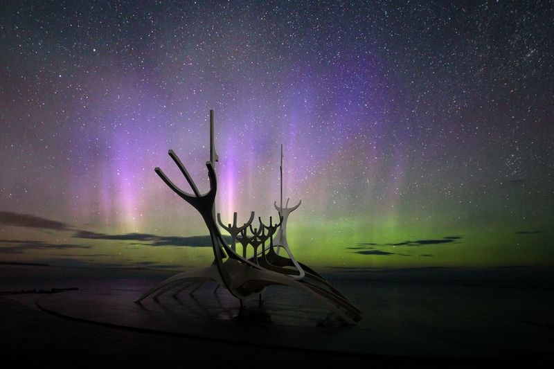 Nightphotography Northern Lights Astronomy Beauty In Nature Galaxy Long Exposure Nature Night No People Outdoors Scenics Sky Star - Space Tranquil Scene Water Capture Tomorrow