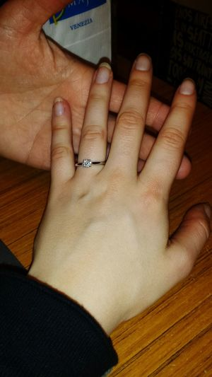 Young Women Wedding Proposal Wedding Ring Venice Italy Venezia Proposta Matrimonio Happy Happiness Love Forever