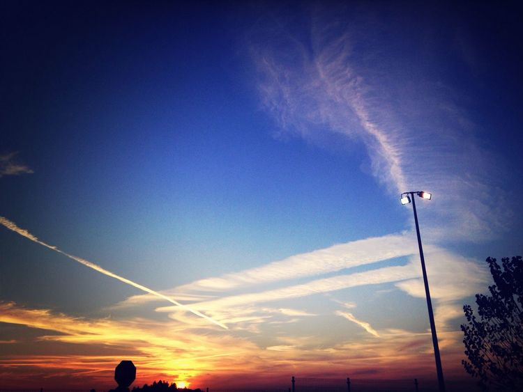 Sunset Sunset Sun Light Clouds And Sky