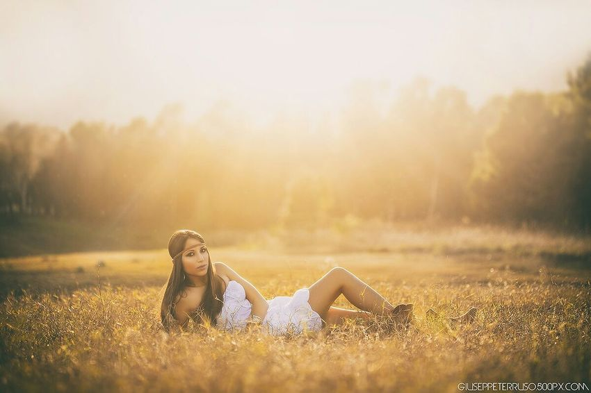 Sunny Day Sunset Wood Palermo Hipster Portrait Hippy Lake Girl Enjoying The Sun Theportraitist-2016eyeemawards