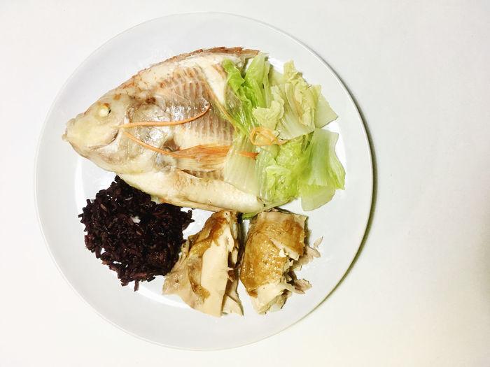 Fish rice and