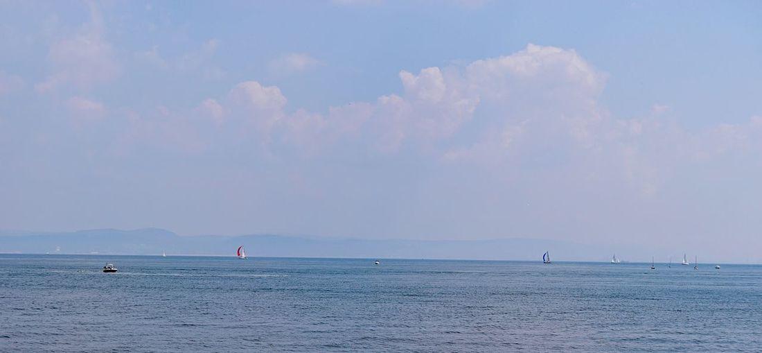 Taking Photos Sea Boats Nikon D5500