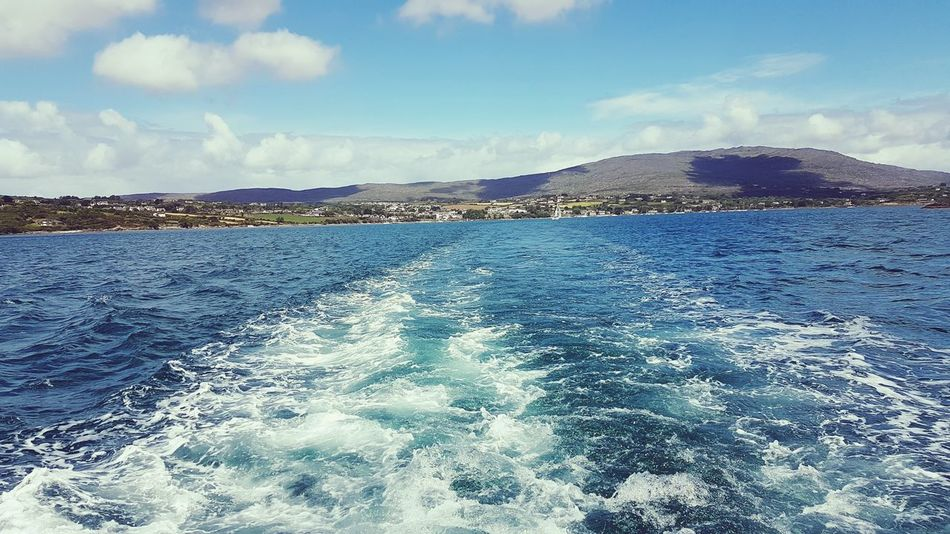 Boat Trip Scenics Beauty In Nature Yachting Adventures Ireland🍀 Corners Of The World Inspiration Clear Sky No Filter Needed From My Point Of View Travel Photography