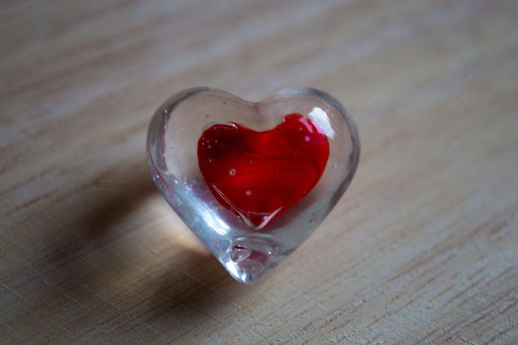 Heart Shape Herz Liebe Love Love Red Valentine Valentine's Day  Valentinstag Wood - Material
