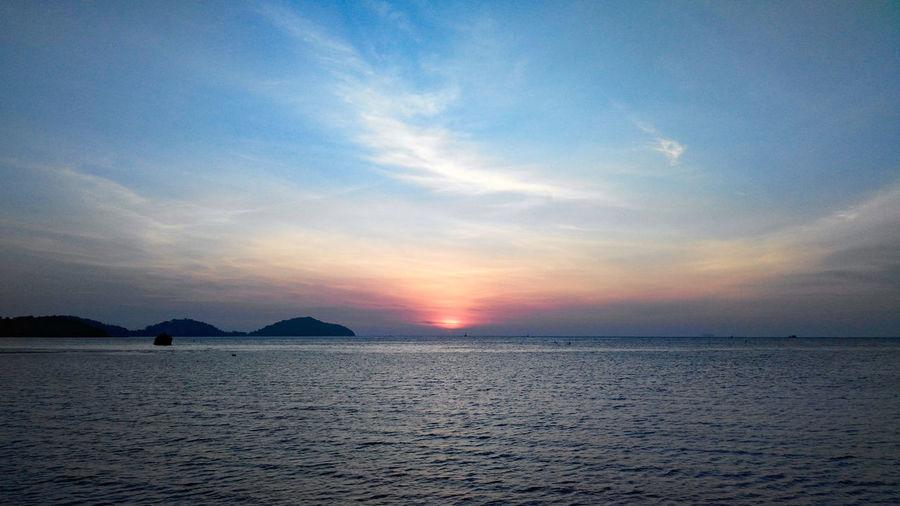 Sunrise Clouds And Sky Water Sea Beach Blue Sun Relaxation Summer Beauty Sunlight Seascape Romantic Sky