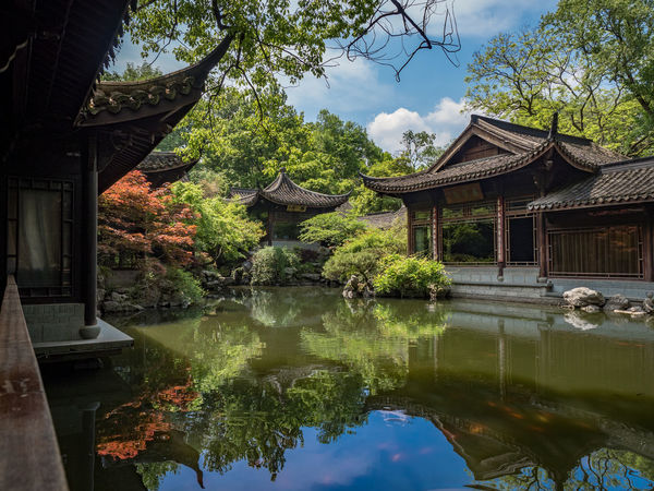 Beautiful remains from 唐 Tang dynasty in 杭州 Hangzhou, China. Built Structure China Beauty Chinese Architecture Cultures Hangzhou Japanese Architecture Outdoors Pagoda Place Of Worship Pond Religion Spirituality Tang Tradition Traditional Travel Destinations Water Westlake 杭州 西湖