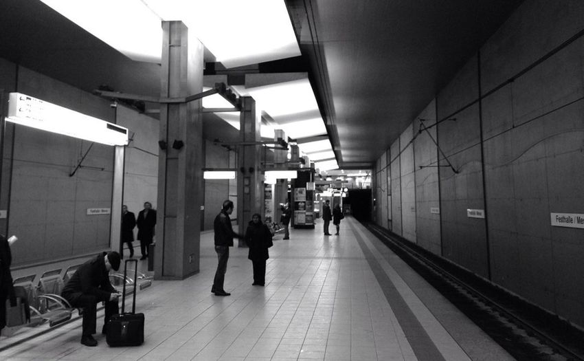 Subway Blackandwhite Subway Station Eye4photography