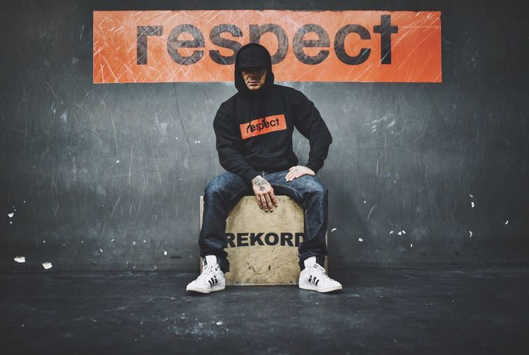 Text Western Script Communication Full Length Single Word One Person Blackboard  T-shirt Men Casual Clothing Cap Placard Indoors  Portrait One Man Only Day Adult People Crossfit Respect Young Adult EyeEm Best Edits EyeEm Best Shots The Week On Eyem EyeEm Gallery