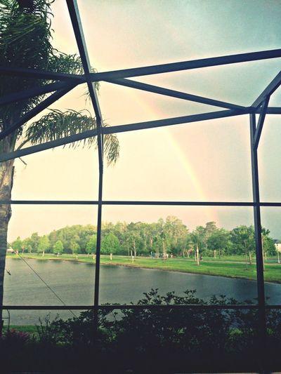 Peep the rainbow