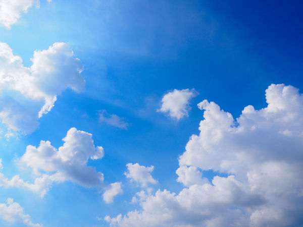 Beautifu blue sky and clouds background Beautiful Blue Sky☁ Sky And Clouds Backgrounds Beautiful Sky And Clouds Beauty In Nature Blue Clean Cloud - Sky Cloudscape Day Environment Full Frame Idyllic Low Angle View Meteorology Nature No People Outdoors Scenics - Nature Sky Softness Sunlight Tranquil Scene Tranquility White Color