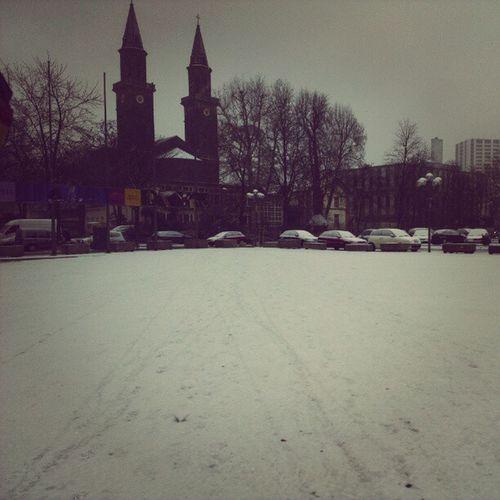#Winterwonderland in #Ludwigshafen. :) #snow #Schnee Winter Snow Schnee Ludwigshafen Winterwonderland