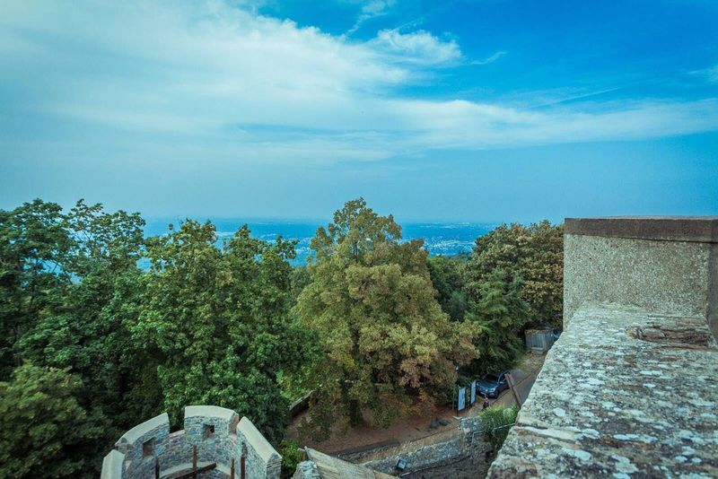 On Top of the Castle Sky WoodLand Scenics Tranquil Scene Tranquility Beauty In Nature Cloud - Sky Day Canonphotography Madeby FlexoGrafie
