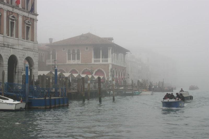 Fog Foggy Morning Foggy Day Foggy Venice Venice Canals Venice Italy Gondole In Venice Italy Holidays Italia Italy Canal Gondola Venezia Veneto Veneza Seeing The Sights My Winter Favorites