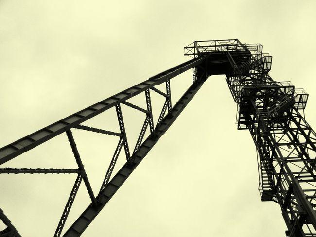 Old Coal Mine Old Machinery B&w Photography Park Tradycji