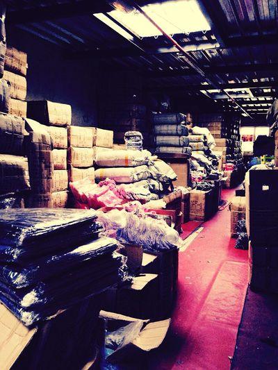Storage Storage Room Stockpiling Stockpile Marchandises Goods Package Box Mess