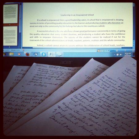 Writing! Taking Photos My World ♥ My Life Ilovephotography