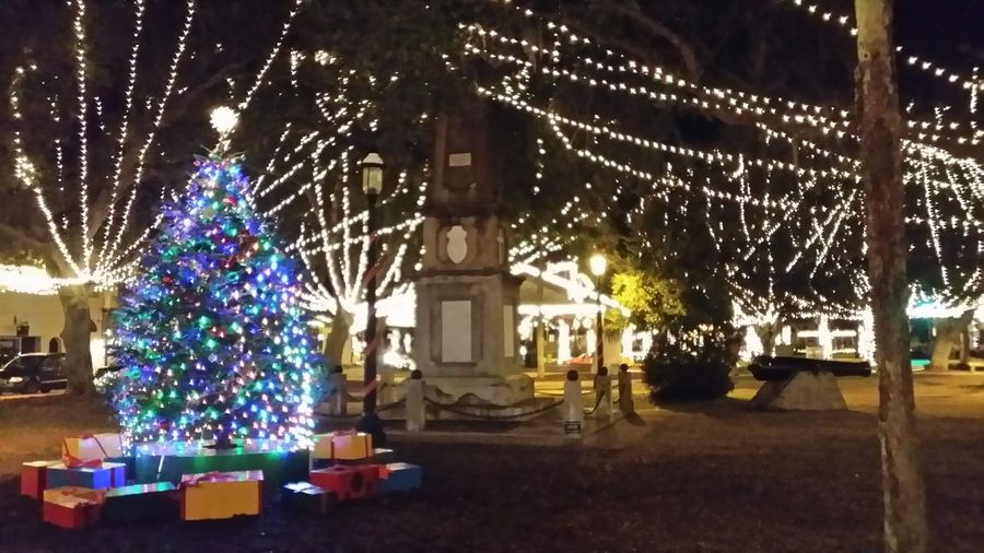 Best Christmas Lights Florida St. Augustine Beach Fl Florida Life Xmass Night Of Lights  Christmas Lights