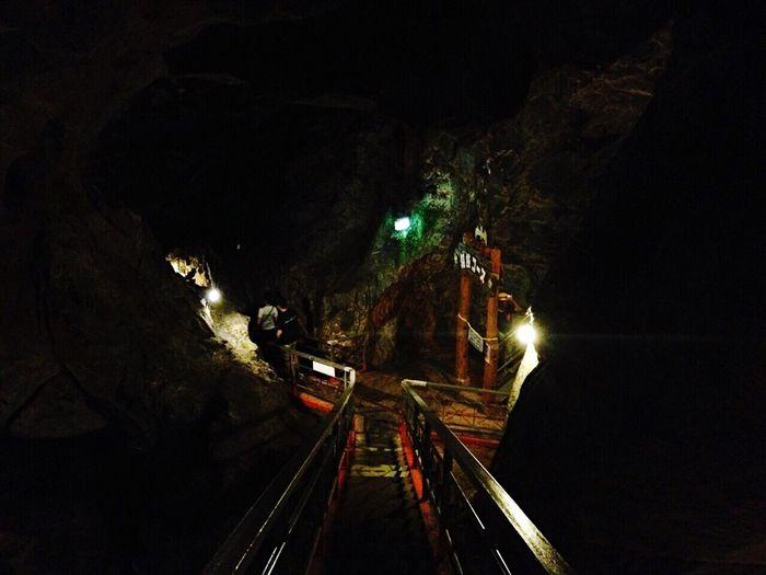 球泉洞 Limestone Cave Taking Photos Amazing View Taking Photos