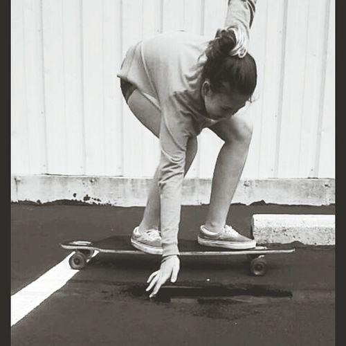 Longboarding Grunge Enjoying Life