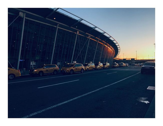 Newyorktaxi Taxi JFK Airport JFK #newyorkcity #Airport Sky Road Transportation Transfer Print Architecture Auto Post Production Filter This Is Strength