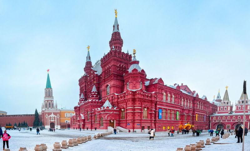 площадь красная площадь Москва Moscow Moscow City Red Square Architecture Arhitecture музей