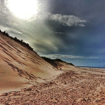 Sun dunes • TstMoments The beaches of Prince Edward Island are of the prettiest I've seen. No wonder it's the 1 Beach destination in Canada. • Tstcanada with @explorecanada & @visitpei • Explorecanada visitpei • Travel Canada pei •