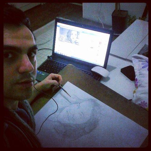 Karakalem Siparis Theben Geceveben gidenlere inception sketch dese draw drawings portrait pencil ustalıkdonemim amateur painter independent inyoureyes only rememberme