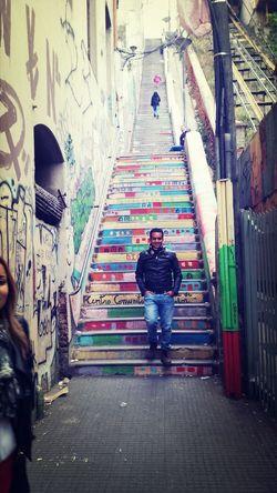 dale escadas...
