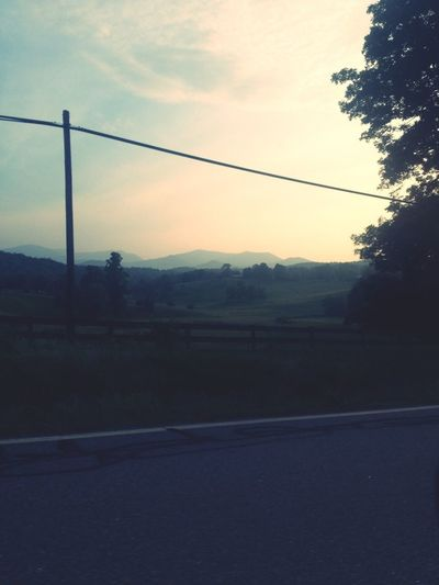 Taking the scenic route through the appalachians <3