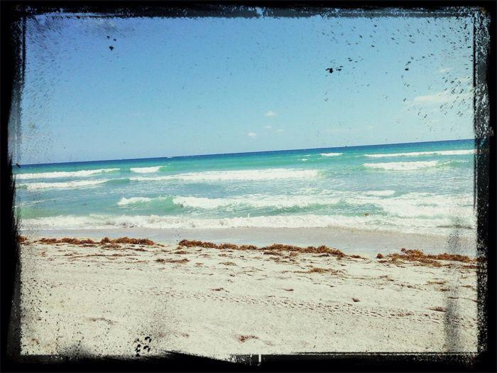 arena y sol.... y el mar azul! Relaxing