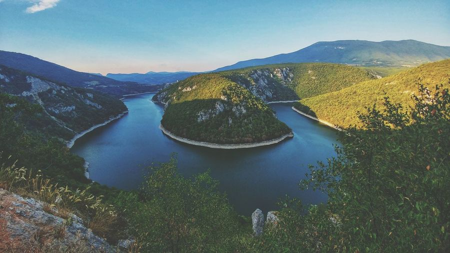 Vrbas, Bočac River Banjaluka Nature Enjoying The View Enjoying Life Naturelovers Bestoftheday Best EyeEm Shot Vrbas Water Tree Mountain Lake Forest Sky