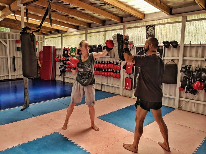 Athlete Boxing