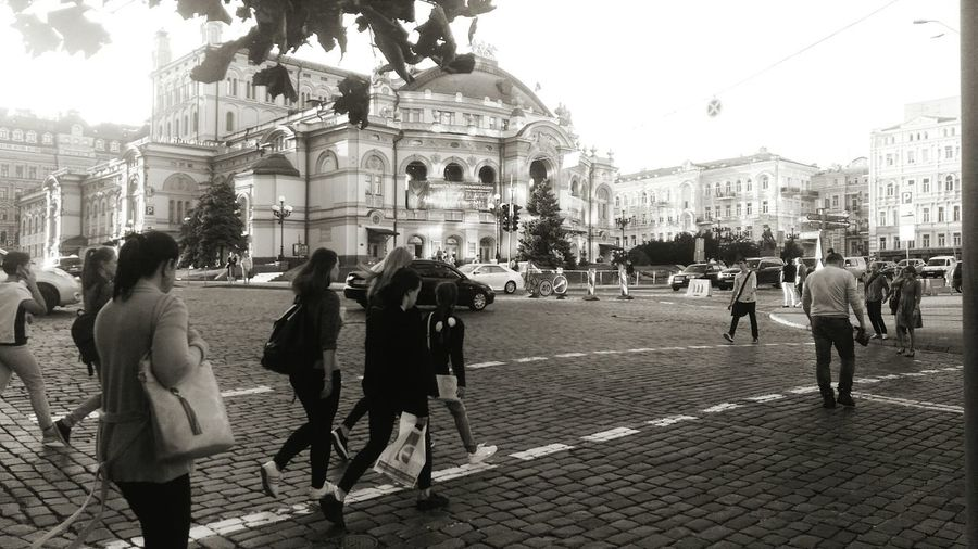 Citylife theaterArchitecture City Street Walking
