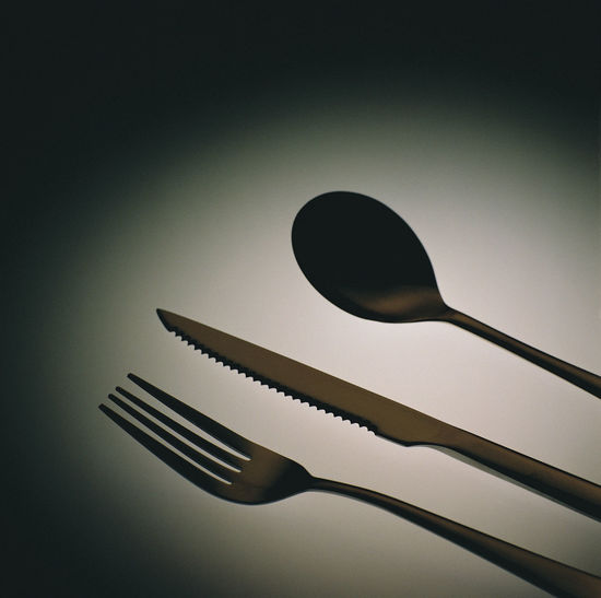 Cutlery still life concept creative design Creative Photography Cross Diet Fork Hungry Knife Spoon Tableware Thinking WILLPOWER Challenge Clear Sky Close-up Concept Creative Day Design Eat Idea Logic Low Angle View No People Outdoors Studio Shot