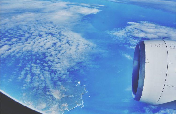Korea Photos Clouds And Sky JEJU ISLAND  From An Airplane Window Streamzoofamily