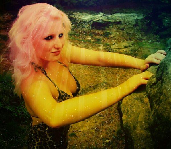 Bikini Time❤ Blonde Girl Portrait Holiday♡