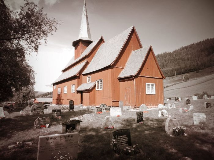 Cemetery Church History Through The Lens  Norway Spirituality Ancient Architecture History House Outdors Stavkirke