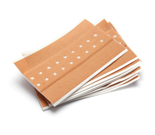 Band Aid Blank Box Box - Container Brown Container Copy Space Cut Out Empty Food Food And Drink Gift Injury Isolated On White Man Made Man Made Object No People Package Paper Shape Single Object Snack Studio Shot White Background White Color
