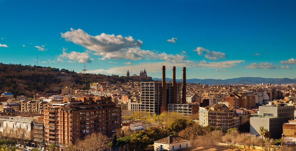 Barcelona Cityscapes City Architecture Clouds And Sky Hello World Summer Views Streetphotography Taking Photos