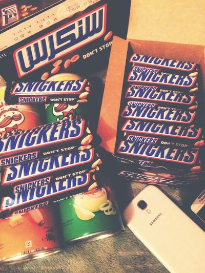 Somtin for the night Pringles Snickers Chocolates Chips 😉😘😎🍫