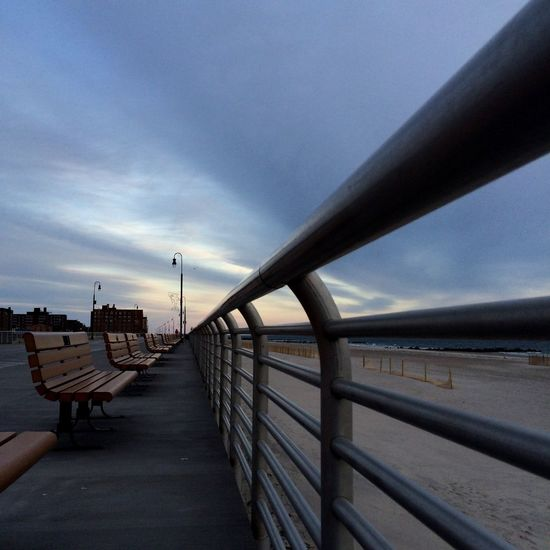 Sunset At Long Beach, NY EyeEm Best Shots Visualmagic Sunset_collection EyeEm Sunset PerspectiveShot Popular Photos Sky Collection Beautiful Sky Boardwalk