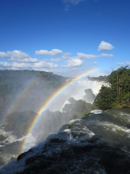 #Brazil #NoFilter #iguazu #nofiltertravel #power #power Of Nature #rainbow #travel #travelphotography #water #waterfalls
