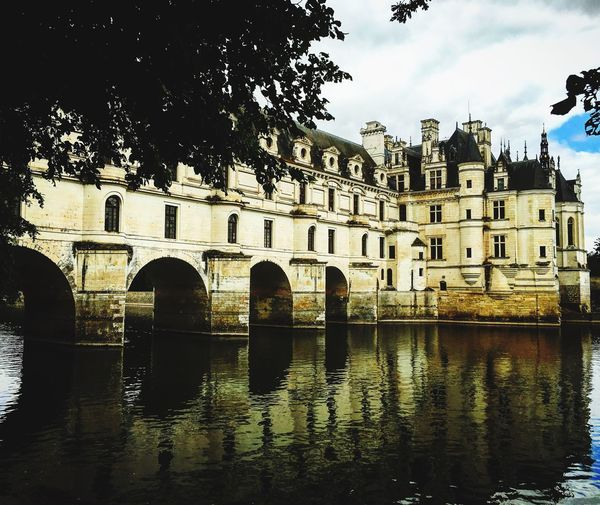 Reflection Building Exterior Outdoors Arch Nature Water Travel Destinations castle