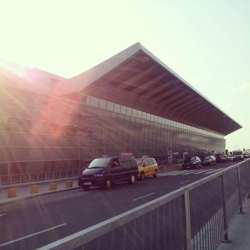 Lotnisko Chopinairport In Warszawa Aeroplane