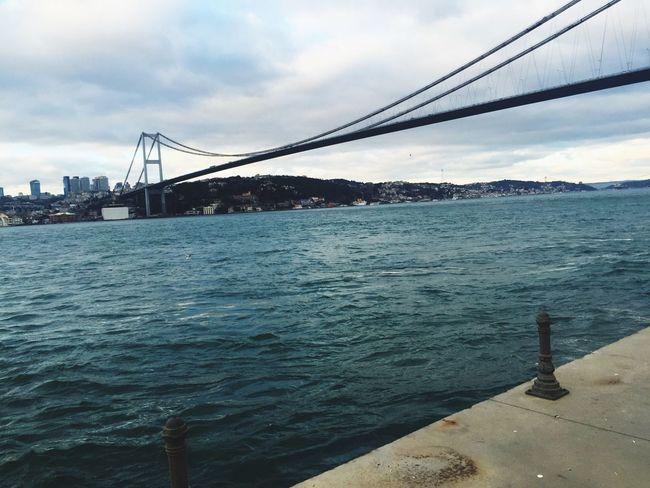 Boğaz Köprüsü Istanbul Boğazı