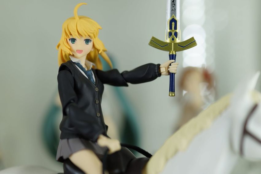 Figma Toy Photography Toy Toys Toyphotography Saber Fate Stay Night