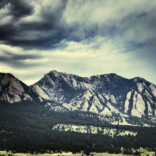 Boulder Flatirons #boulder #flatirons