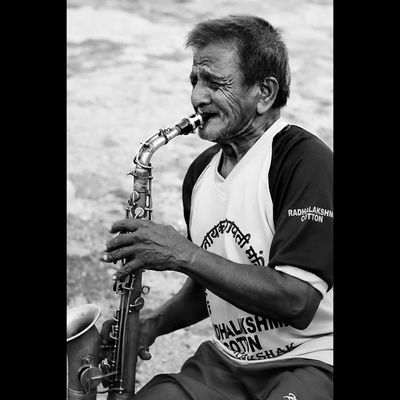The song I came to sing remains unsung to this day. I have spent my days in stringing and in unstringing my instrument. The time has not come true, the words have not been rightly set; only there is the agony of wishing in my heart . . .?? Lovely_mumbai Repostindia Momentcapturerz Pw_mumbai MyMumbai BlackAndWhiteMumbai ig_bw ig_portrait IGCAPTURESCLUB ig_mood