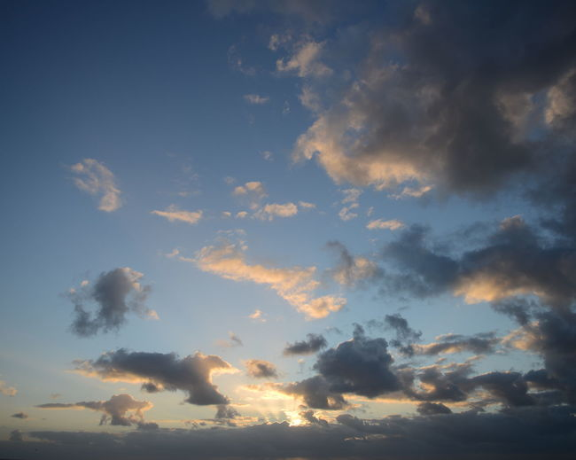 Sky Sunset Clouds Wind Beach St. Peter Ording Wattenmeer Nordsee Germany Dramatic