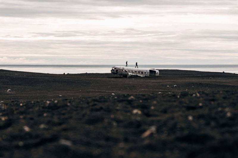 Iceland Sólheimasandur Plane Wreck The Week On EyeEm Abandoned Air Vehicle Airplane Cloud - Sky Day Flying Landscape Military Military Airplane Mode Of Transport Outdoors Plane Wreck Sand Sky Sólheimasandur Transportation Travel Done That. Lost In The Landscape Connected By Travel Go Higher The Traveler - 2018 EyeEm Awards